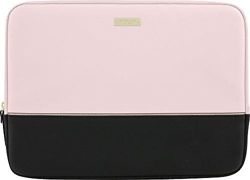 kate spade new york Color-Block Sleeve with Metallic Detailing for 13' MacBook - Black/Rose Quartz/Rose Gold
