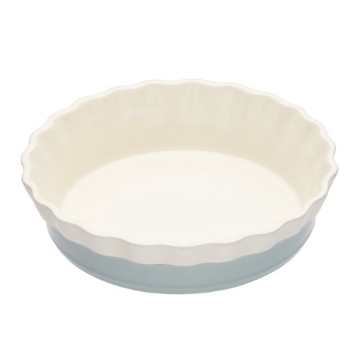 Kitchen Craft Classic Collection Oven To Tableware Round Ceramic Fluted Pie by Kitchen Craft