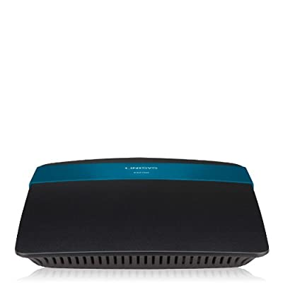 Linksys N600+ Wi-Fi Wireless Dual-Band+ Router with Gigabit Ports, Smart Wi-Fi App Enabled to Control Your Network from Anywhere (EA2700)