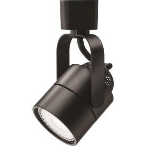 Lithonia Lighting Meshback 1-Light Black LED Track Lighting Head