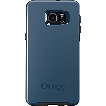 separation shoes 90f1d 6365c OtterBox SYMMETRY SERIES Case for Samsung Galaxy S6 EDGE+ - Retail  Packaging - CITY BLUE (DARK DEEP WATER BLUE/SLATE GREY)