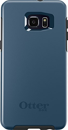 OtterBox SYMMETRY SERIES Case for Samsung Galaxy S6 EDGE+ - Retail Packaging - CITY BLUE (DARK DEEP WATER BLUE/SLATE GREY) (What's The Best Screen Protector For Galaxy S6 Edge)