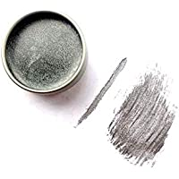 Silver Vegan Zero Waste Cake Mascara, Organic Mascara, Silver Eyeliner, Zero Waste Eyeliner, Plastic Free, Cruelty Free, Christmas Gift