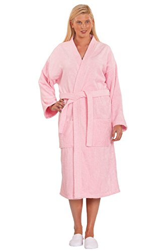 Cotton Turkish Terry Kimono Bathrobe