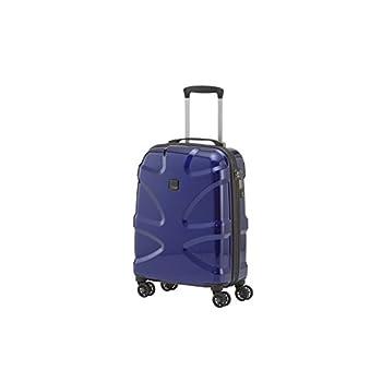 Image of Luggage Titan Luggage & Travel Gear X2 International Carry on 20'' hardside Spinner Luggage, Midnight Blue