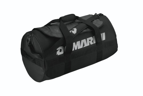 DEMARINI Stadium Bat Duffel Bag, Black