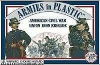 American Civil War Union Iron Brigade (20) 1/32 Armies in Plastic by Armies in Plastic