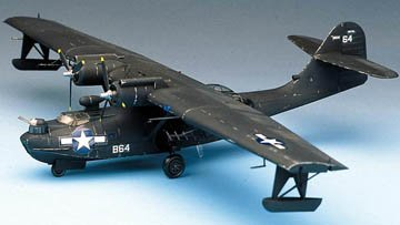 "Academy Consolidated PBY-5A Catalina ""Black Cat"" from Academy Models"