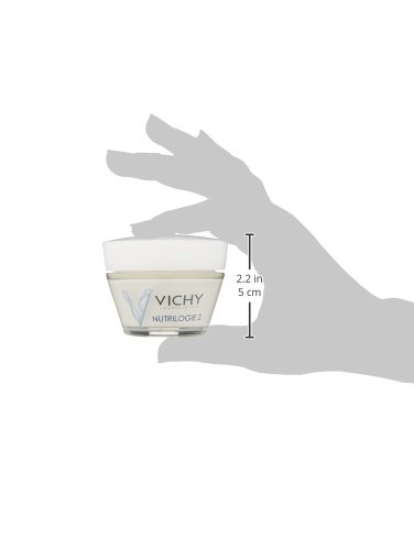 Vichy Nutrilogie 2 Intense 24-Hour Facial Moisturizer for Very Dry Skin, 1.69 Fl. Oz.