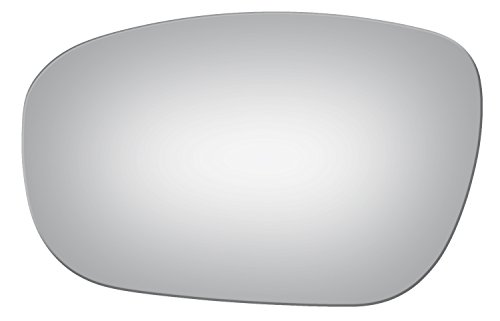 (Burco 4058 Flat Driver Side Power Replacement Mirror Glass for Chrysler 300, Dodge Charger, Magnum (2005, 2006, 2007, 2008, 2009,)