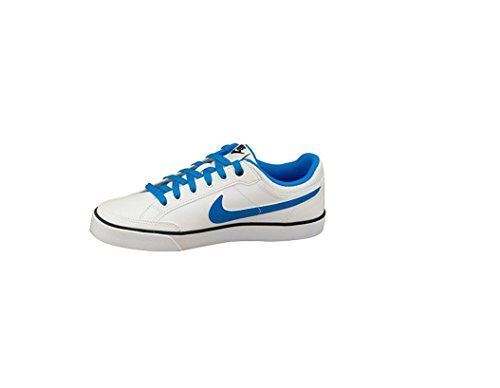 finest selection 21104 96d98 ... Nike Capri 3 LTR (GS) Zapatillas de tenis, Niños Blanco  Azul ...