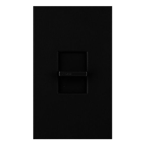 Lutron Nova T - NTFTV-BL - Fluorescent Dimmer - For Use with 0-10 Volt Dimming Ballasts - Single Pole - 16A - Black