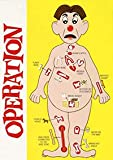 1/2 Sheet Operation Game Board Image Edible
