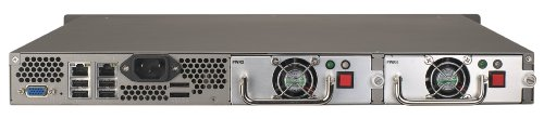 QNAP USB 2.0 4-Bay Turbo Network Attached Storage Rack Mount Server with Redundant Power Supply TS-459U-RP+