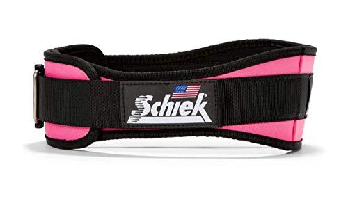 4 3/4 Schiek Lifting Belt Extra Small - Pink
