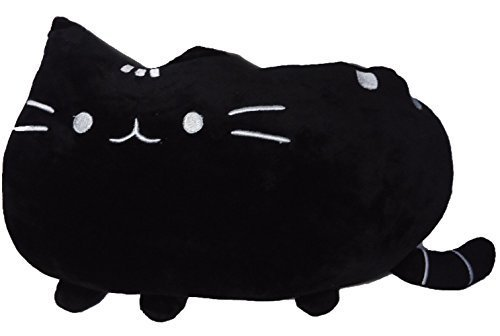 Big Cat Emoji Throw Pillow Pet