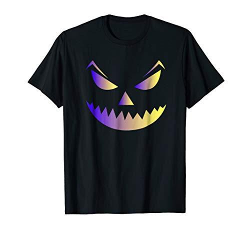 Spooky Jack-O-Lantern Pumpkin Halloween Costume T Shirt -