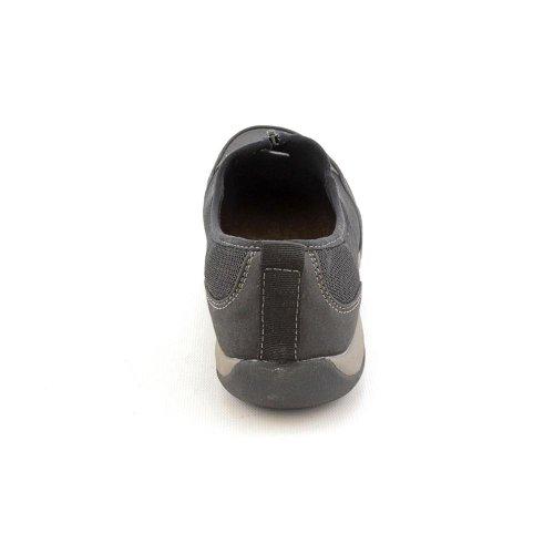 Baskets Landon Pour Femmes Style Soft Suede Noir / Mesh