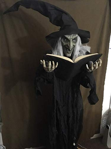 Nantucket Witchy Winifred Holding Spellbook Halloween Standing Prop Decoration by Nantucket (Image #3)