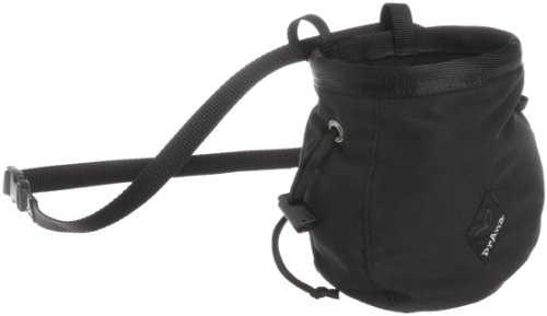 prAna Men's Chalk Bag with Belt (Black, One Size) (Prana Chalk Bag)
