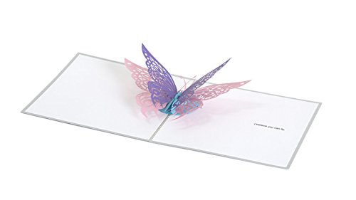 PaperPopCards, Butterfly - Amazing 3D Greeting Card