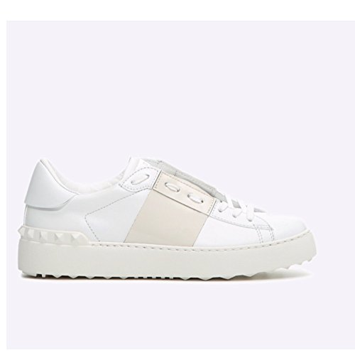 Damen Bianco Garavani Valentino Weiß Sneaker 5vP8p8qg