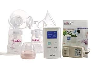 Spectra Baby USA - 9 Plus Portable and Rechargeable Electric Breast Pump - Provides Small and Discreet Pumping for Busy Moms, Great for Travel by Spectra Baby USA (Image #1)