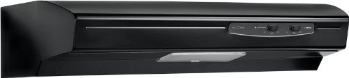 Broan QSE130BL Energy Star Qualified Under-Cabinet Range Hood, 30-Inch, Black by Broan