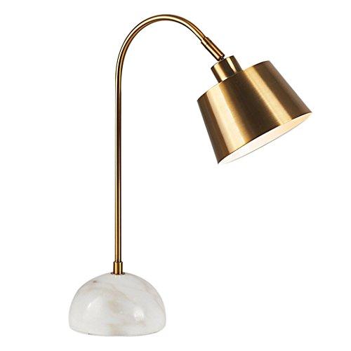 CZWYF Lámpara de Mesa de mármol, lámpara giratoria Moderna, Sala ...