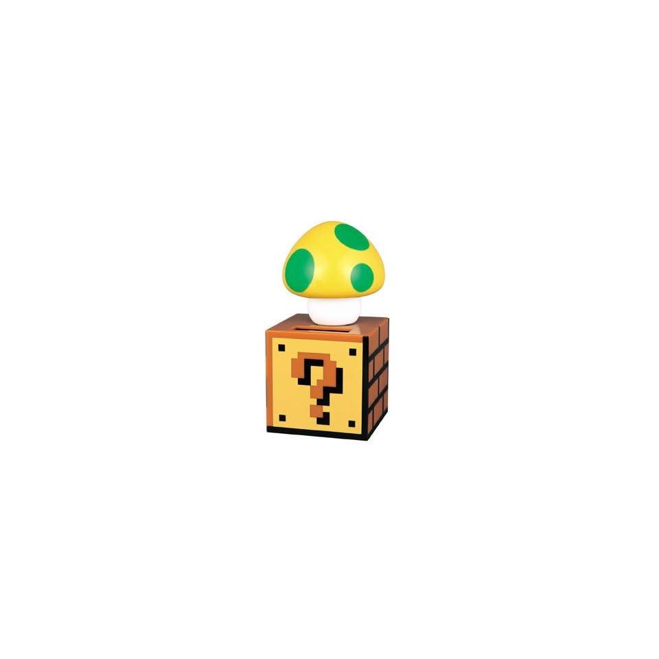 Nintendo Super Mario Bros. One Up Mushroom Solar Figure