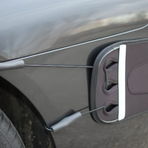 Bungee Cords//Hooks Luv-Tap Rear Bumper Guard Replacement Accessories