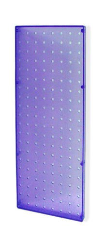 Count of 2 New Blue Molded Plastic Pegboard 8'' Width x 20'' High Wall Panels by Pegboard