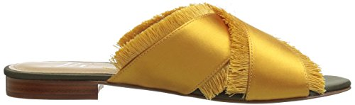 Pictures of The Fix Women's Brystal Frayed Cross Brystal Frayed Cross Strap Slide Sandal 3