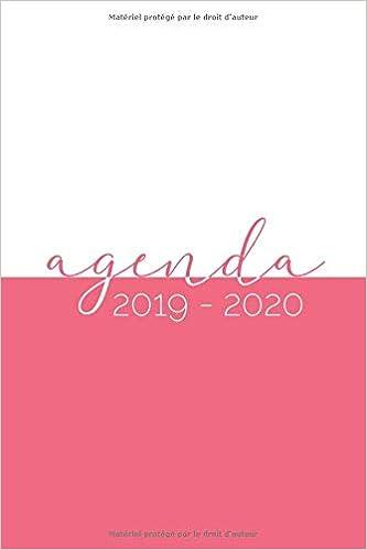 Agenda 2019-2020: Agenda Scolaire de Juillet 2019 à Juillet ...