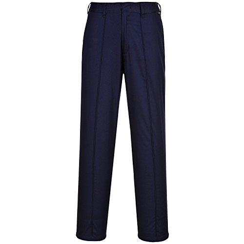 Portwest - Pantalones elásticos de trabajo para mujer (XS-REGULAR/Azul marino) Armada