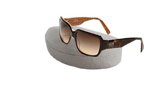 Coach Tortoise Delphine Gradient Sunglasses UV Protection W/ Coach Signature Case S443