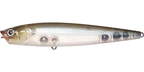 Lucky Craft Gunfish 115-mm Bait (Ghost Minnow, 4-1/2-Inch) ()