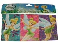 (Disney Princess Tinker Bell Notepad - 3 pack Notepads set)