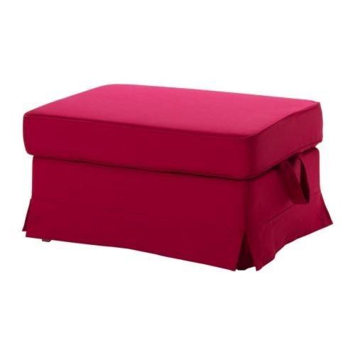 Ikea Original Bezug Idemo Rot Für Ektorp Hocker Amazonde Küche