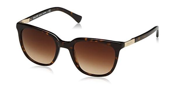 Ralph 0Ra5206 Gafas de sol, Rectangulares, 51, Dark Tortoise ...