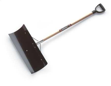 (True Temper 24-Inch Steel Blade Snow Pusher - 1639300)