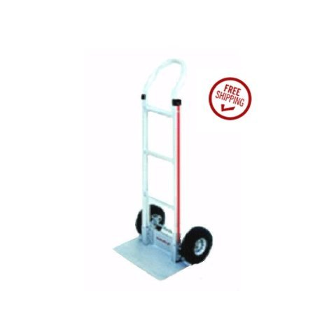 Magliner Loop Handle 18'' Nose 10'' Air Tire Hand Truck HMK111G15 (68'' Tall)