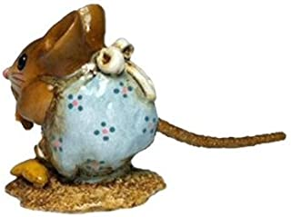 product image for Wee Forest Folk NM-1 Nibble Mouse (Robins Egg)