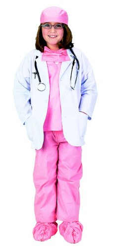 Pink Doctor Costume - Girls Pink Jr Doctor Costumes