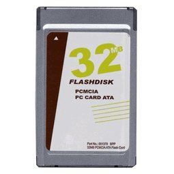 - 32MB PCMCIA ATA Flash Card (p/n ATA-32MB-MT)