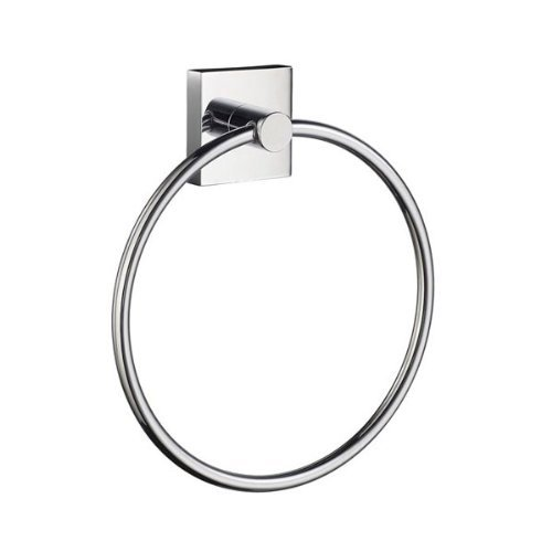 Smedbo House Towel Ring Polished Chrome by Smedbo