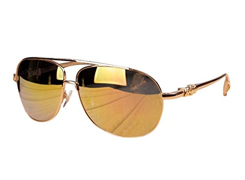 New authentic Chrome Hearts sunglasses sunglasses male driver partial luster film frames ()