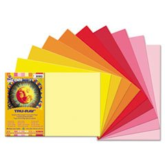 Tru-Ray Construction Paper, 76 Lbs, 12 X 18, Assorted, 25 Sh