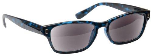 UV Reader Blue Tortoiseshell Sun Readers Reading Glasses Sunglasses UV400 Wayfarer Style Mens Womens UVSR005 - Frames Tortoiseshell Spectacle