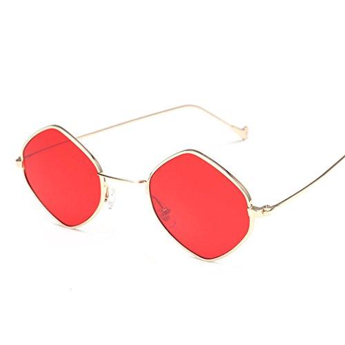señoras de Gafas B Coreanas Gafas la A X160 Color sol Personalidad Gafas Elegantes de Redondas de Las Moda de sol rrgOZHx